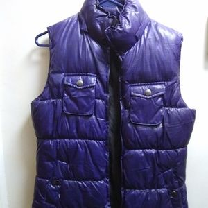"""Faded Glory"" Puffer Vest; Size S"